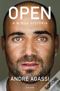 Livro de negocios Open - A Minha Históriado Andre Agassi